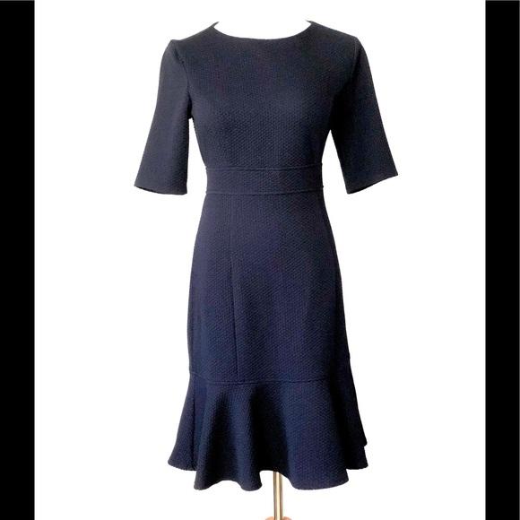 Chaps Dresses & Skirts - Chaps Short Sleeve Navy Dress